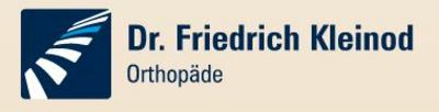 Dr. Friedrich Kleinod Orthopäde Logo