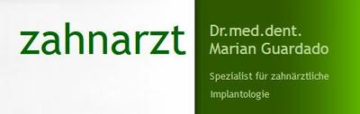 Zahnarzt Dr.med.dent. Marian Guardado  Logo