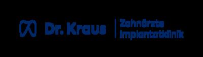 Dr. Kraus Zahnärzte + Implantatklinik Logo
