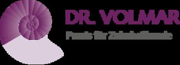 Dr. med. dent. Jürgen Volmar M.Sc. M.A. Logo