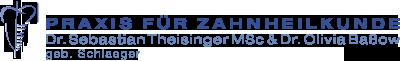 PRAXIS FÜR ZAHNHEILKUNDE Dr. Theisinger (geb. Schlaeger) MSc & Dr. Baßow Logo