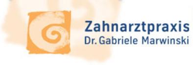 Zahnärztin Dr. Gabriele Marwinski Logo