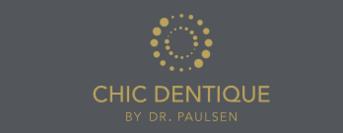 Chic Dentique – Zahnarzt Logo